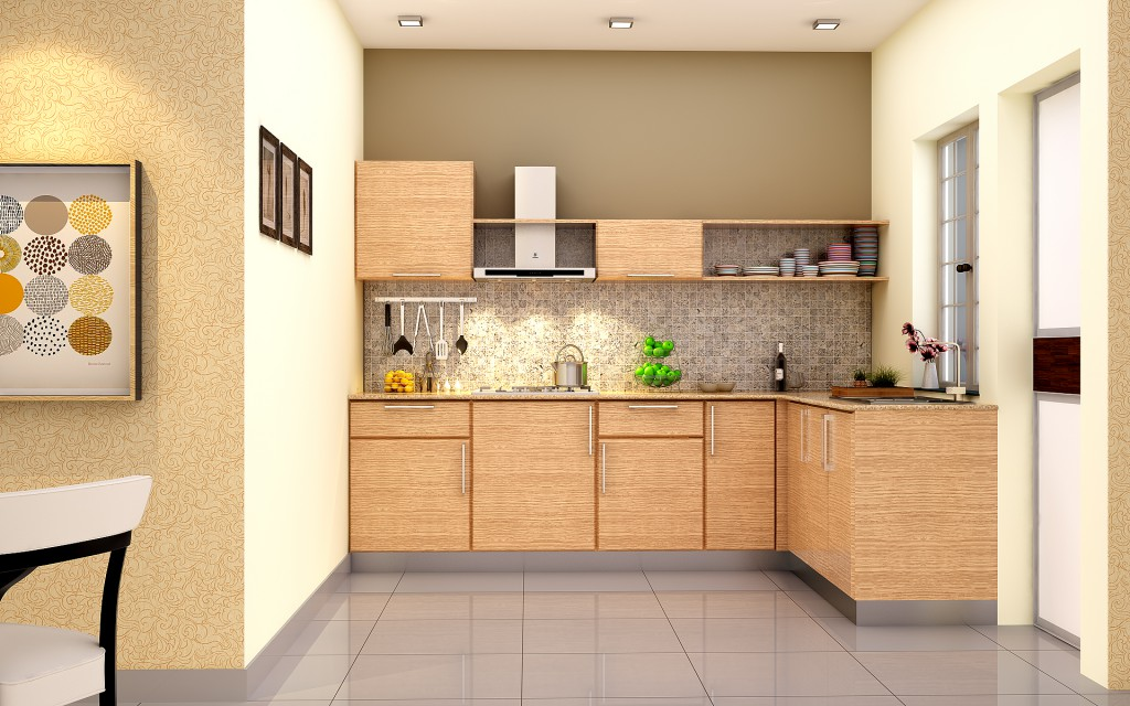5 Modular Kitchen Designs with a Wood Finish - HomeLane