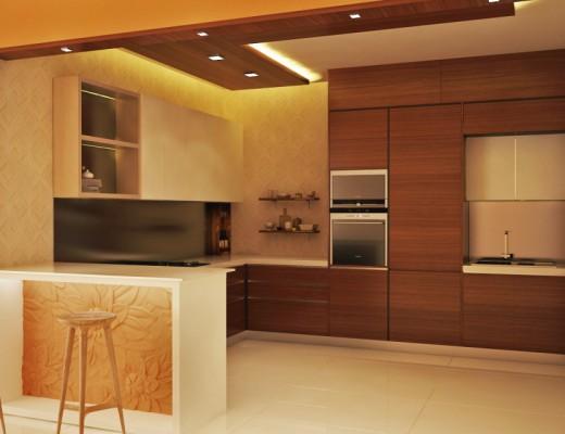 Kitchen With Breakfast Bar Unit Archives HomeLane
