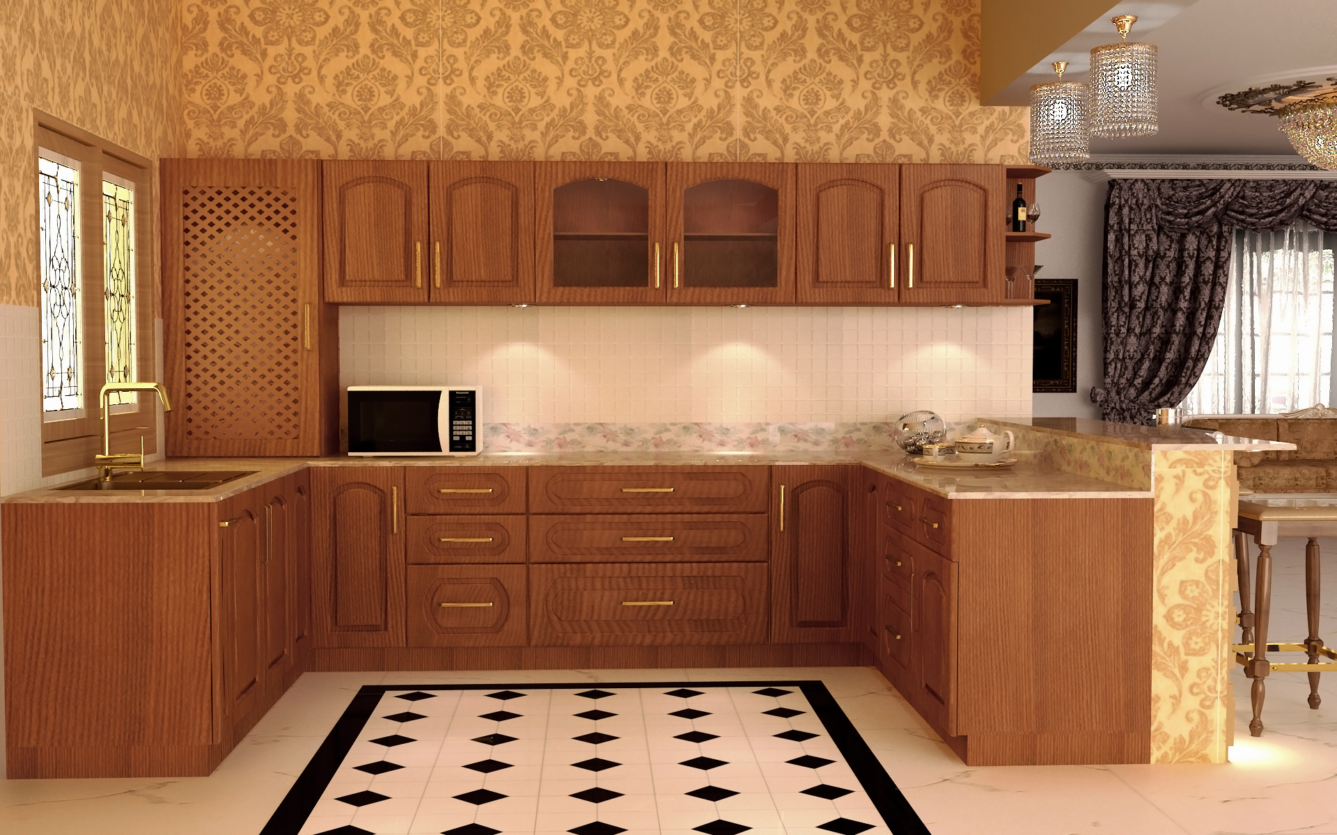 Designs Of Modular Kitchen Design Tips The Traditional Kitchen Homelane