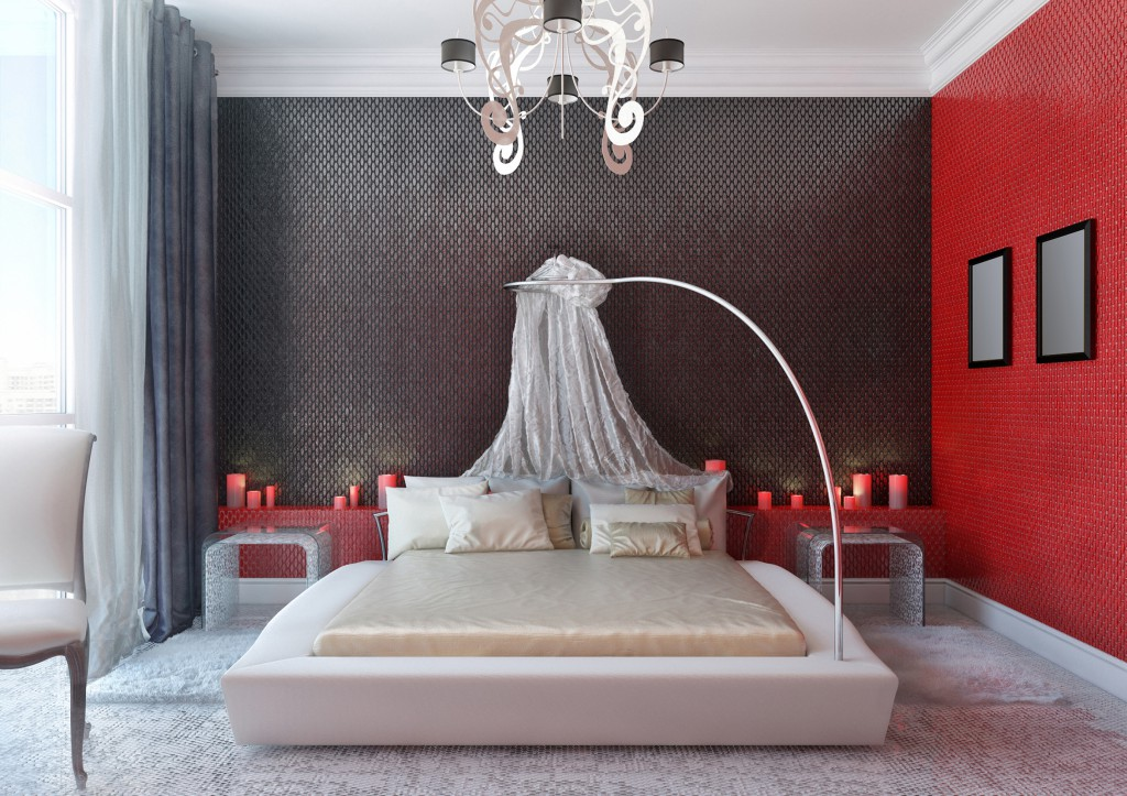 Creative use of whites, greys and nudes can lend character to your bedroom.