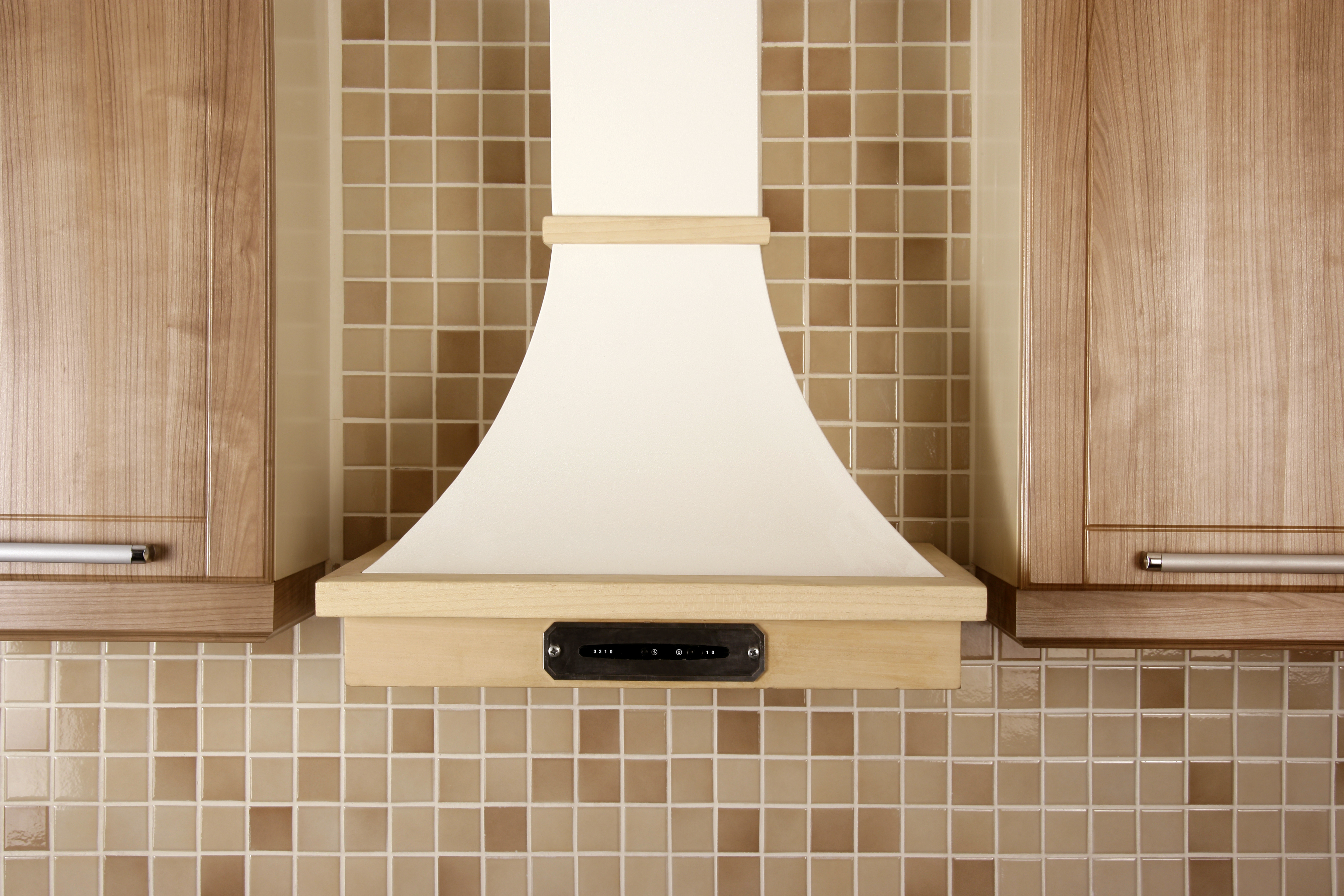 chimney in kitchen design. shutterstock 51402136 Chimneys And Hobs  How To Choose The Right Appliances For Your