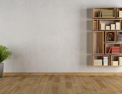 how-to-style-books-wood-shelf