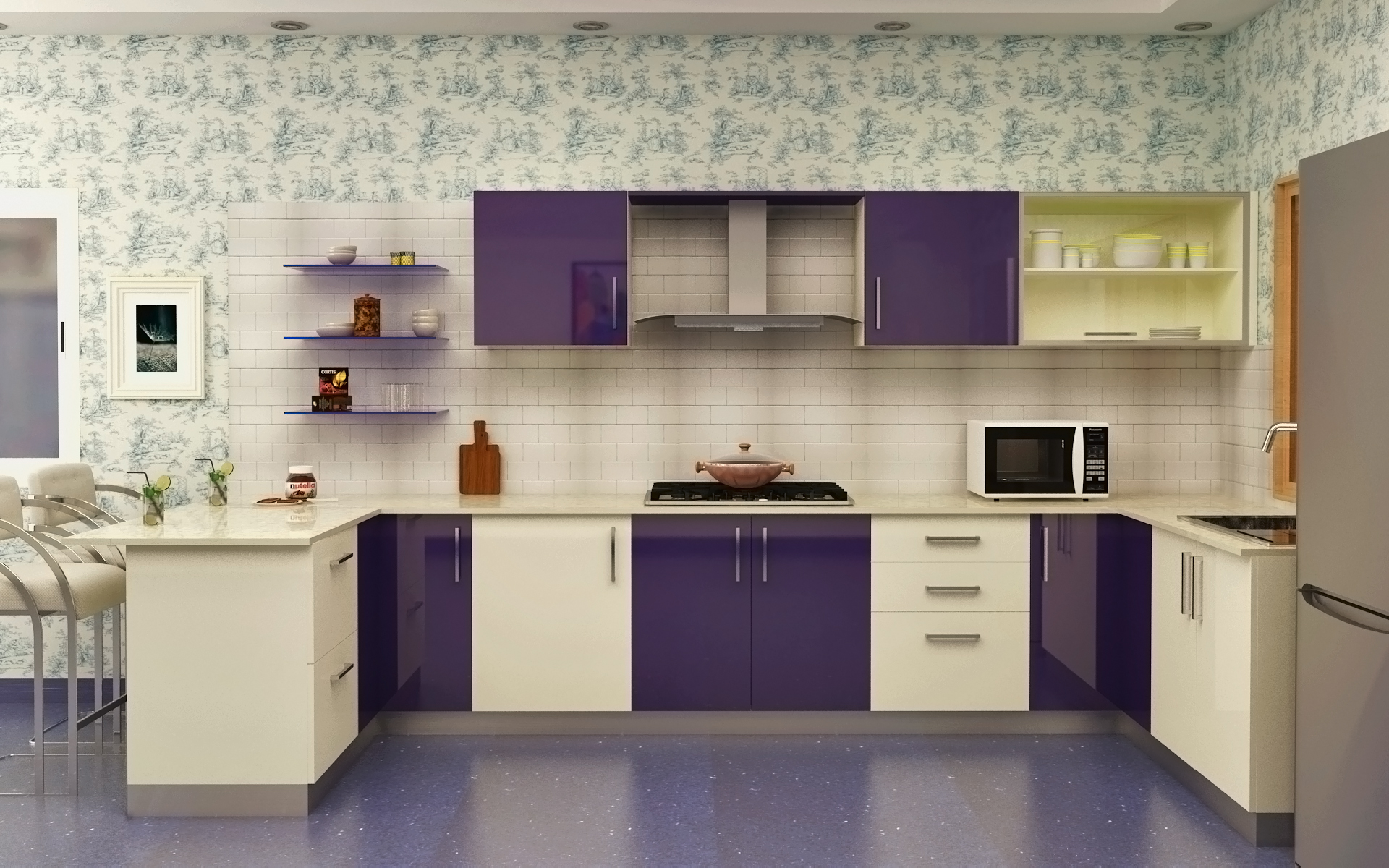 Designs Of Modular Kitchen Modular Kitchen Designs 4 Ways To Go Glossy Homelane
