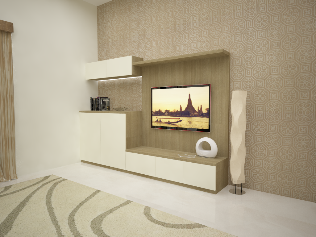 Master Bedroom Entertainment Unit Designs From HomeLane