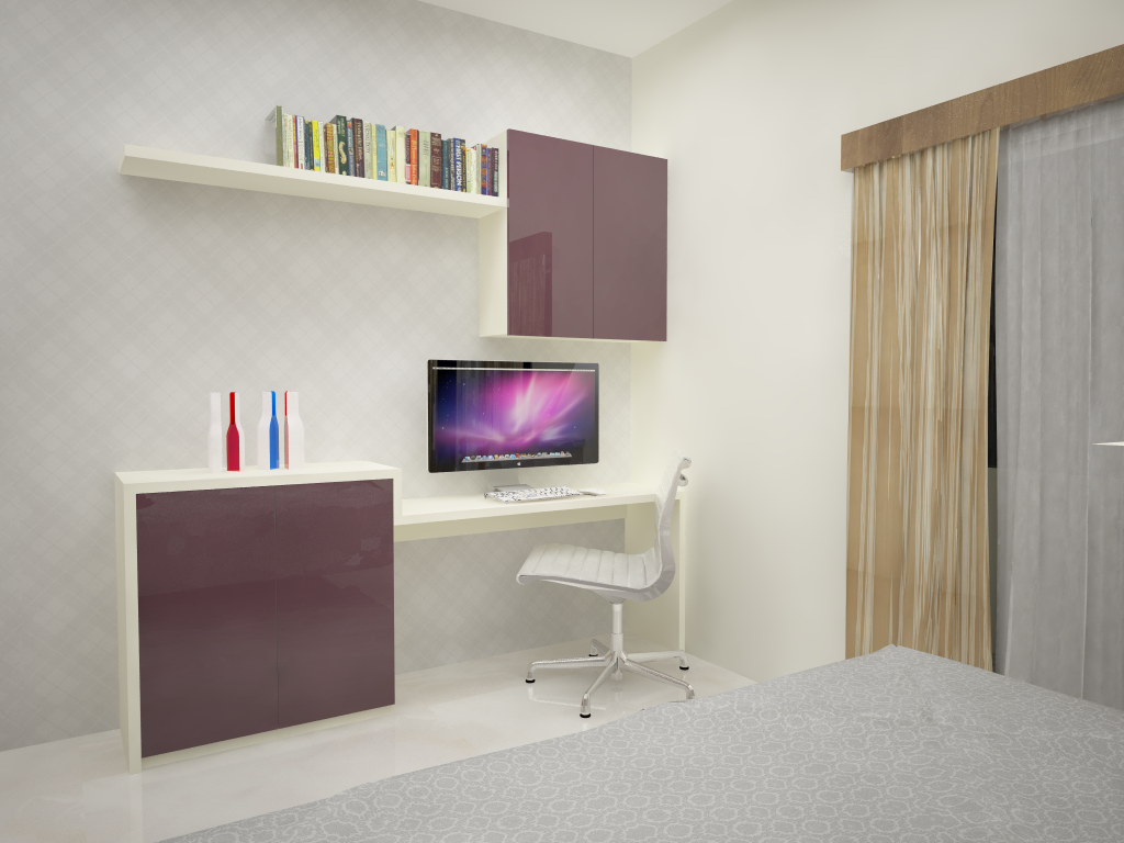 Interior Design Bedroom Study Table Pictures