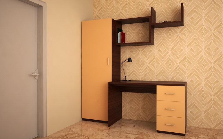 contemporary study furniture. contemporary study table unit from homelane furniture