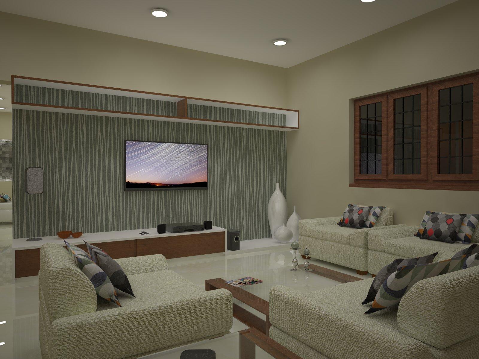 Homelane Apartment Design Family Living Room