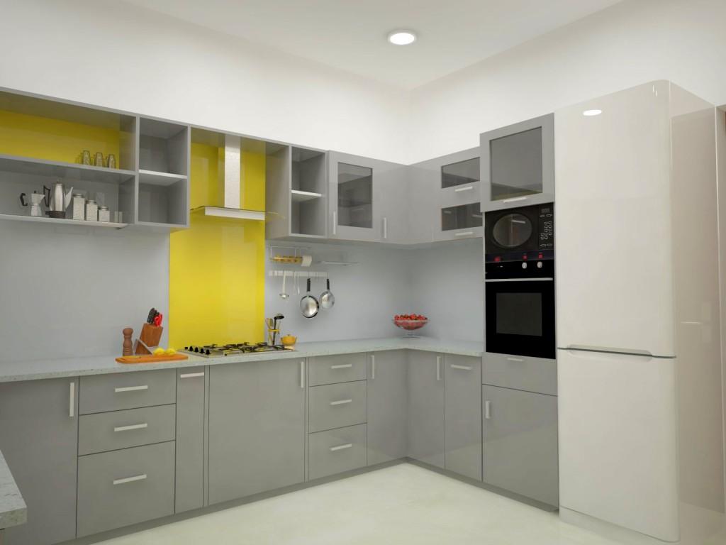 Homelane Apartment Design Kitchen