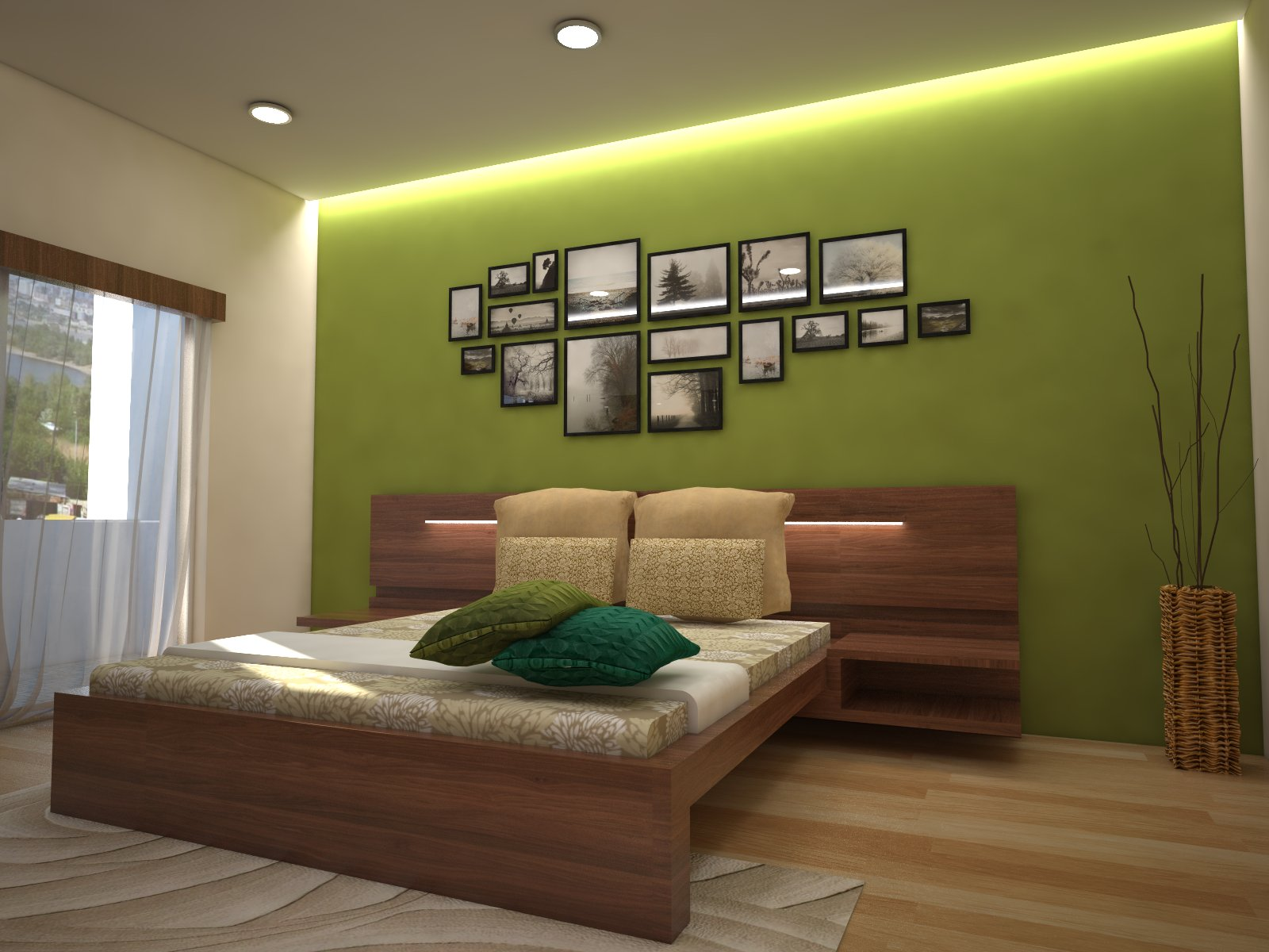 Homelane Apartment Design Bedroom