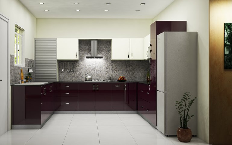 Go For A Clutter Free Look Contemporary Modular Kitchen From HomelaneIndian Contemporary Kitchen Designs   lesternsumitra com. Indian Contemporary Kitchen Designs. Home Design Ideas