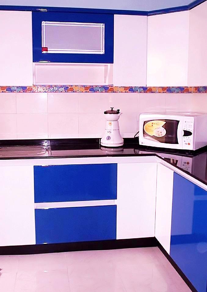 Blue Modular Kitchen Winda 7 Furniture