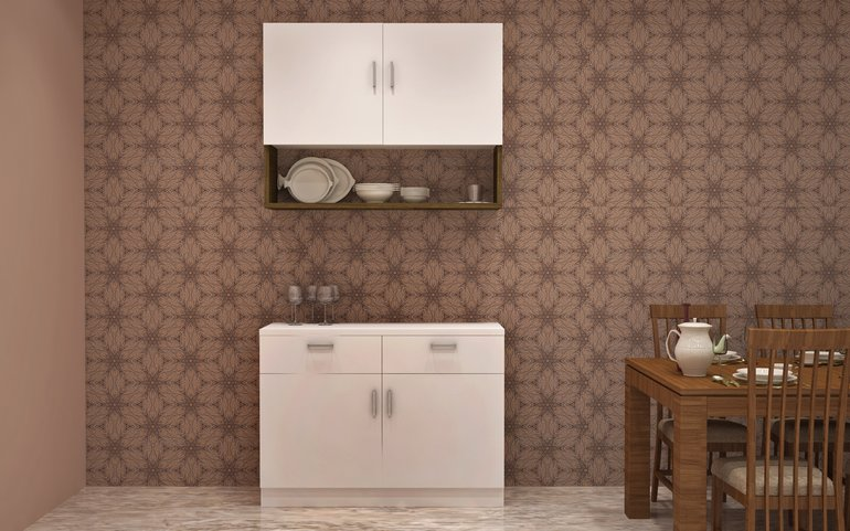 MustHave Crockery Unit Designs For Every Home  HomeLane