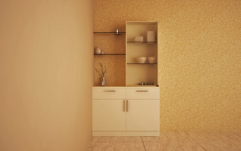Classic style: Crockery Unit from HomeLane