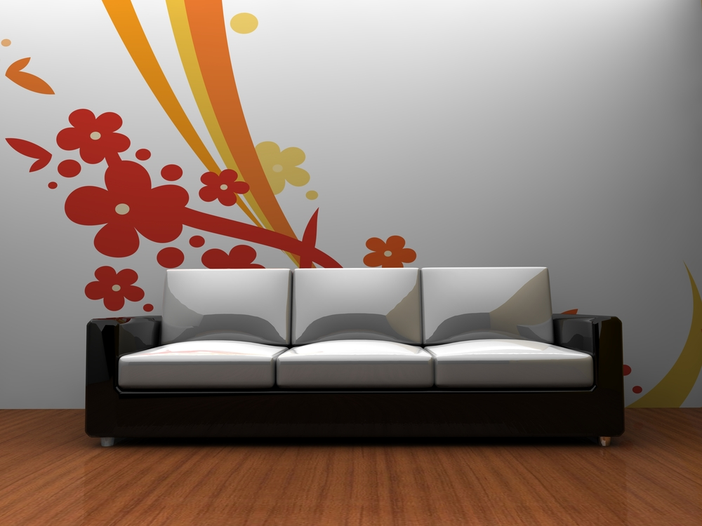 Stencil Designs Wallpaper Versus Wall Painting