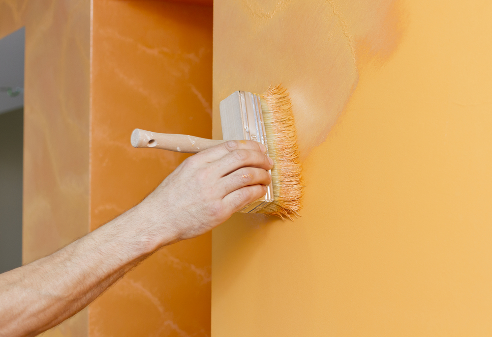 Wall Paint Wallpaper texture paints or wallpaper: which one should you choose? - homelane