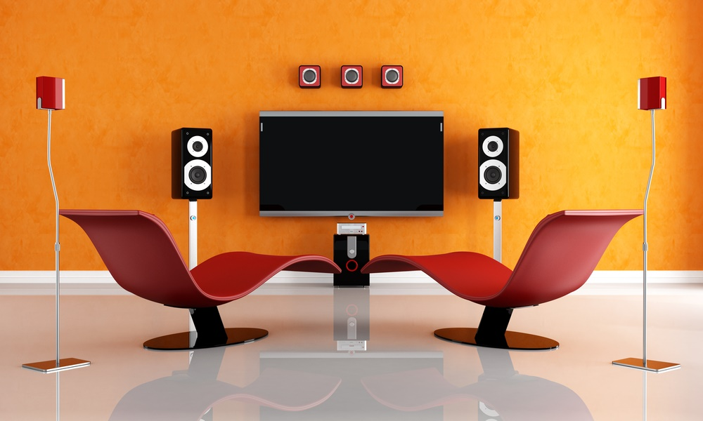 A perfectly put-together home theatre is no child's job!