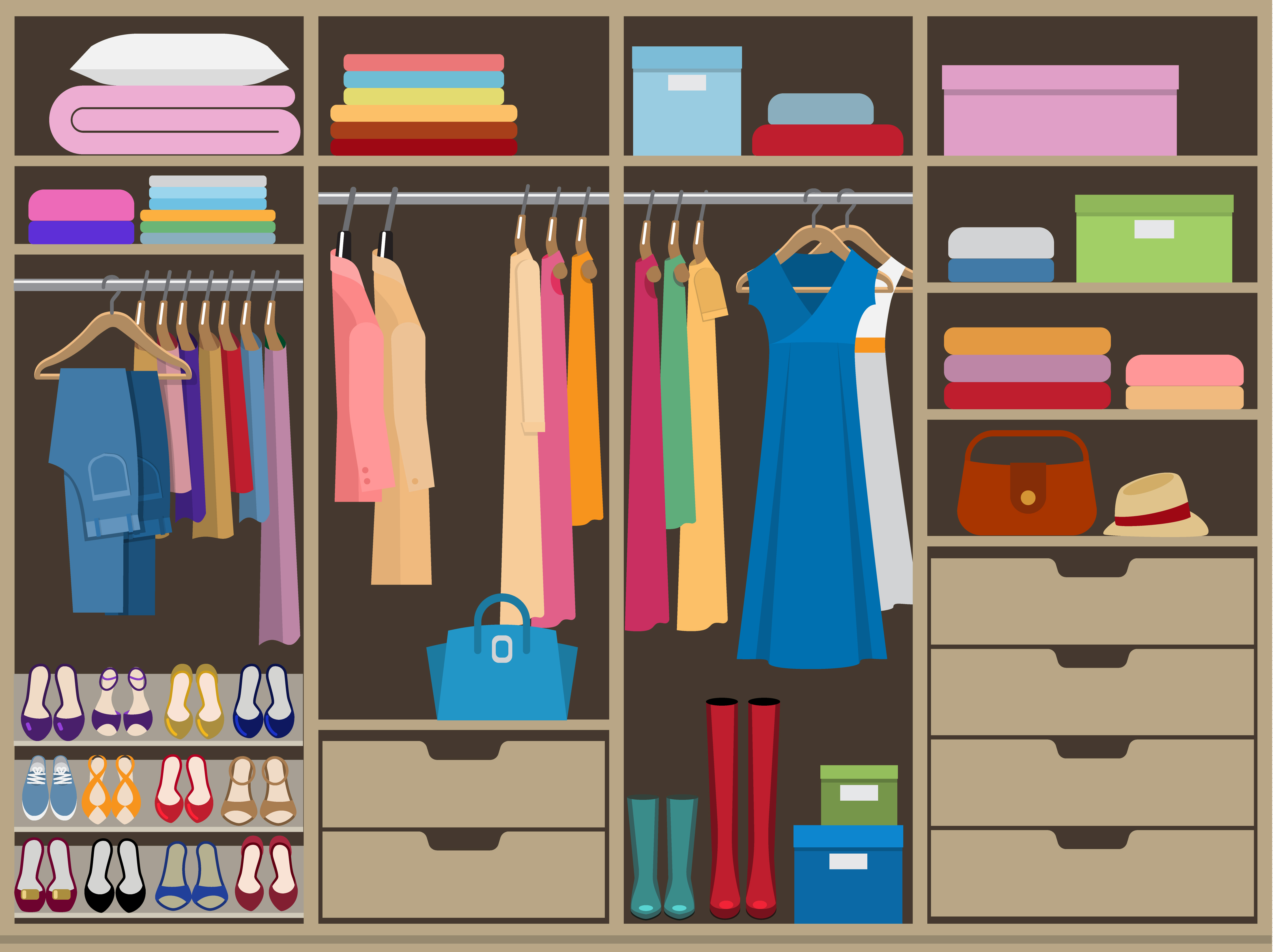 for brewster an down home organized closet tips pair best your pairdown