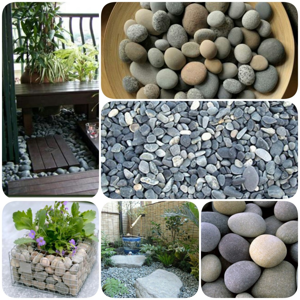 Play with pebbles
